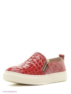 Ботинки Makfly. Цвет: красный