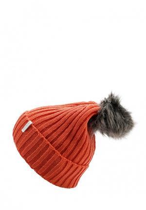 Шапка Icepeak. Цвет: оранжевый