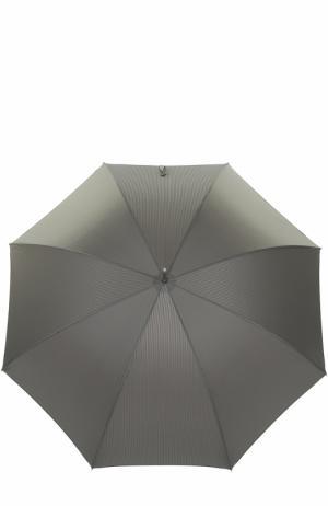 Зонт-трость Pasotti Ombrelli. Цвет: серый