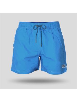 Шорты пляжные мужские JOHN FRANK. Цвет: голубой