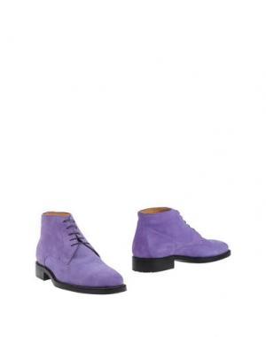 Полусапоги и высокие ботинки DE TOMMASO. Цвет: фиолетовый