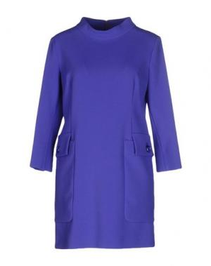 Короткое платье PIU' &. Цвет: фиолетовый
