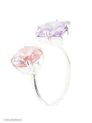 Кольцо Lovely Jewelry. Цвет: фиолетовый, розовый