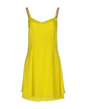 Короткое платье CRISTINAEFFE. Цвет: желтый