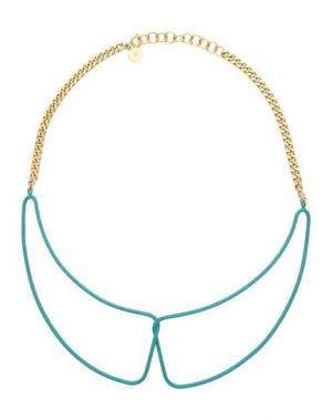 Ожерелье MARC BY JACOBS. Цвет: зеленый