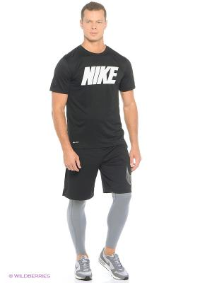 Тайтсы WARM TIGHT Nike. Цвет: темно-серый, белый, черный