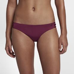 Женские плавки для серфинга Hurley Quick Dry Nike. Цвет: пурпурный