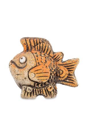 Фигурка Рыба Теплые моря шамот Art East. Цвет: коричневый