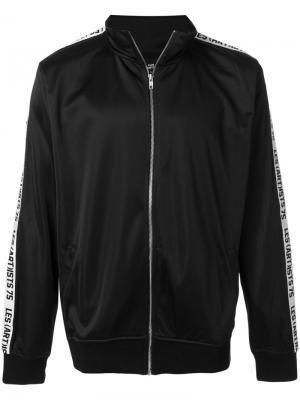 Спортивная куртка Les (Art)Ists. Цвет: чёрный