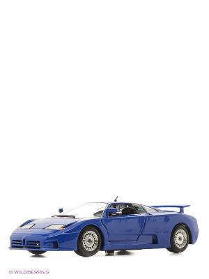 1:24 BB Машина Bugatti EB 110 Bburago. Цвет: синий