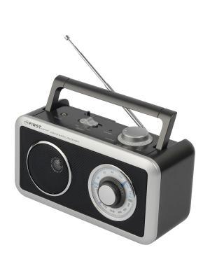 Радиоприемник FIRST. Цвет: черный
