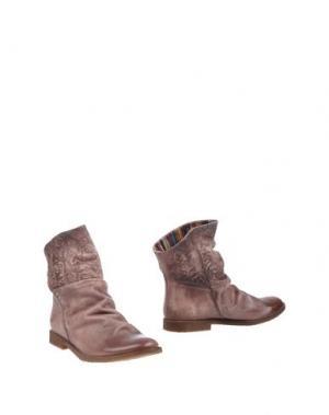 Полусапоги и высокие ботинки FELMINI. Цвет: светло-коричневый