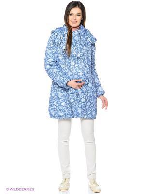 Куртка Mum`s Era. Цвет: синий