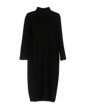 Платье до колена ANNECLAIRE. Цвет: черный