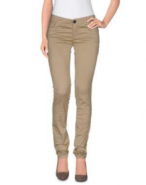 Повседневные брюки MAGAZZINI DEL SALE. Цвет: хаки