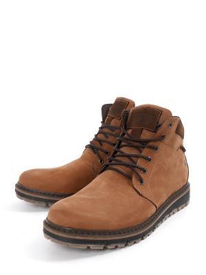 Ботинки Rooman. Цвет: коричневый