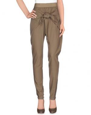 Повседневные брюки SILENT DAMIR DOMA. Цвет: хаки