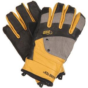 Перчатки сноубордические женские  Empress Gtx Glove Natural Pow. Цвет: черный,коричневый,серый