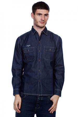 Рубашка  Long Johnson Blue Enjoi. Цвет: синий