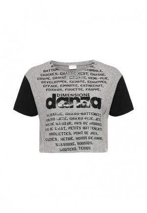 Футболка Dimensione Danza. Цвет: серый