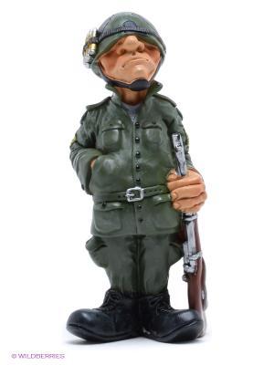 Фигурка Солдат The Comical World of Stratford. Цвет: зеленый, коричневый, кремовый, черный