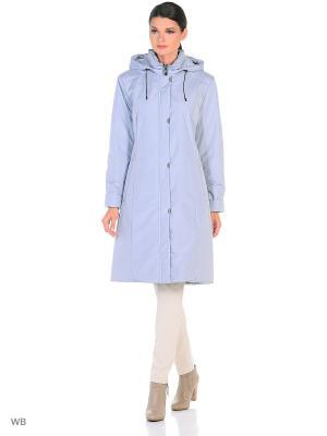 Пальто NANNA Maritta. Цвет: серо-голубой