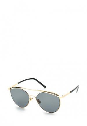 Очки солнцезащитные Taya. Цвет: золотой