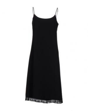 Платье до колена NANUSHKA. Цвет: черный