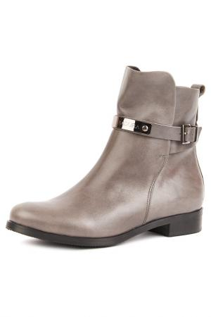 Ботинки Badura. Цвет: серый