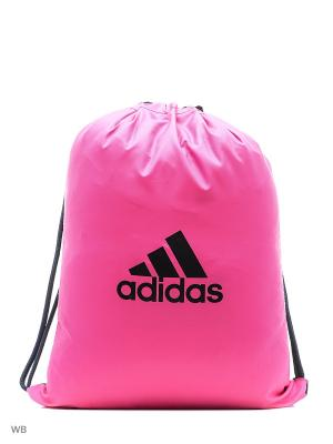 Мешок для обуви X GB 17.2 Adidas. Цвет: синий, фуксия