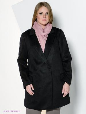 Пальто New Look. Цвет: черный