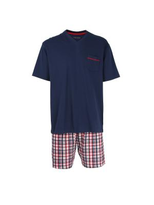 Пижама CECEBA. Цвет: красный, темно-синий