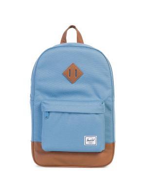 Рюкзак HERITAGE MID-VOLUME (A/S) Herschel. Цвет: голубой,светло-коричневый