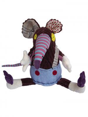 Игрушка Deglingos Крыска Ratos - Gigant. Цвет: коричневый