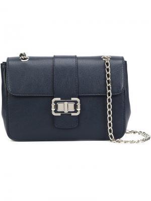 Маленькая сумка на плечо Bianca Monique Lhuillier. Цвет: синий