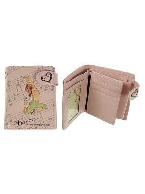 Кошелек женский Русские подарки. Цвет: розовый