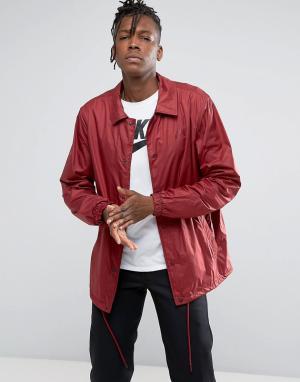 Nike SB Бордовая спортивная куртка Sheild 829509-677. Цвет: красный