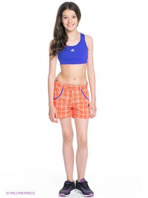 Шорты G Funshorts Adidas. Цвет: оранжевый