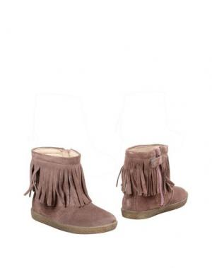 Полусапоги и высокие ботинки FALCOTTO. Цвет: розовато-лиловый