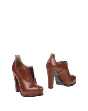 Ботинки ELIANA BUCCI. Цвет: какао