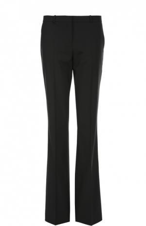 Расклешенные брюки со стрелками BOSS. Цвет: черный