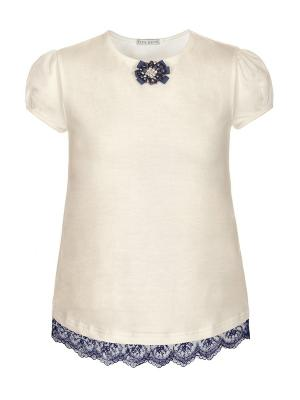 Блузка Nota Bene. Цвет: молочный