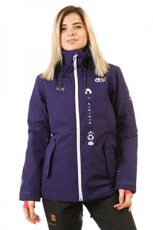 Куртка утепленная женская  Kelowna Purple Picture Organic. Цвет: фиолетовый