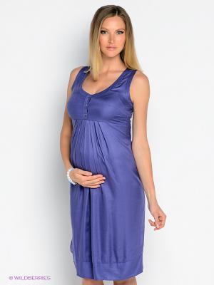 Платье Isabella Oliver. Цвет: фиолетовый