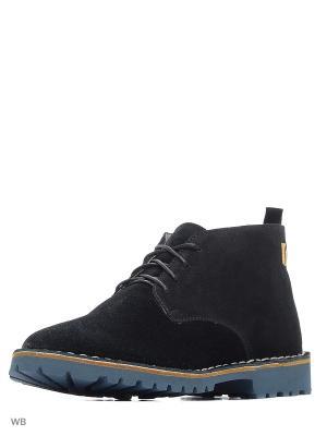 Ботинки renne. Цвет: черный