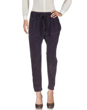 Повседневные брюки NOLITA. Цвет: фиолетовый