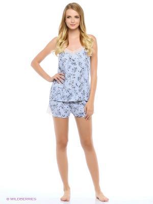 Комплект пижамный Deseo. Цвет: голубой