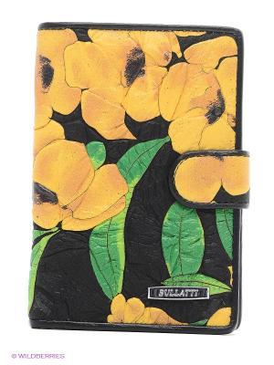 Обложка Bullatti. Цвет: светло-коричневый, горчичный, хаки