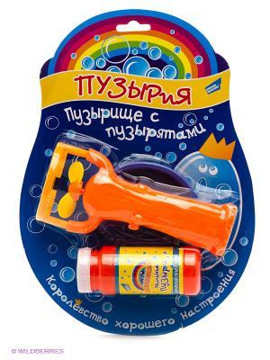 Набор для пускания мыльных пузырей Пузырище с пузырятами DREAM MAKERS. Цвет: оранжевый
