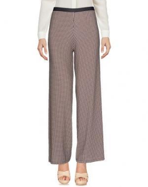 Повседневные брюки SIYU. Цвет: темно-фиолетовый